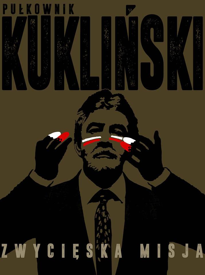 Plakat Pułkownik Kuklinski Zwycięska Misja