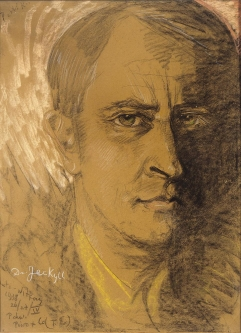 Stanisław Witkiewicz Witkacy Autoportret