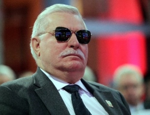 Lech Wałęsa superstar!