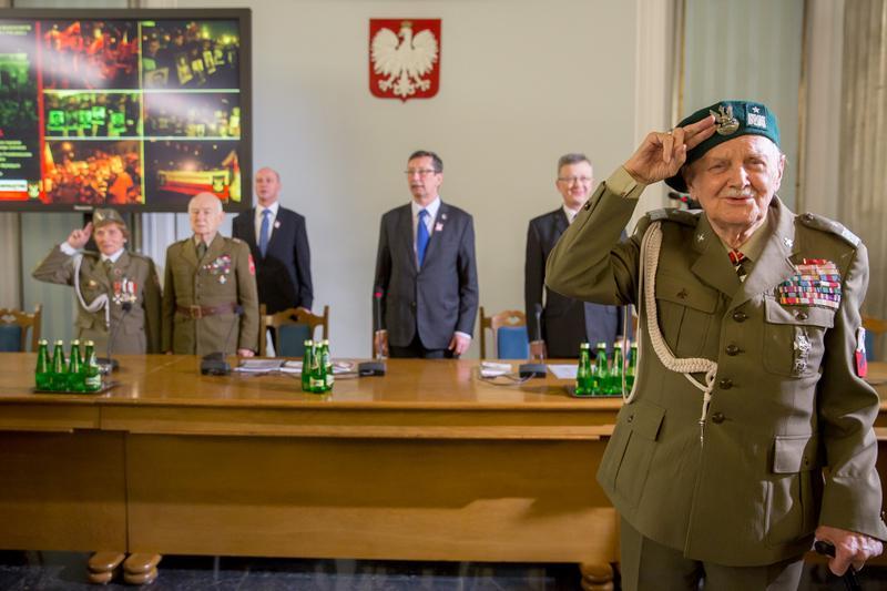 Konferencja - Żołnierze Wyklęci. Droga wolnych Polaków - zorganizowana wSejmie
