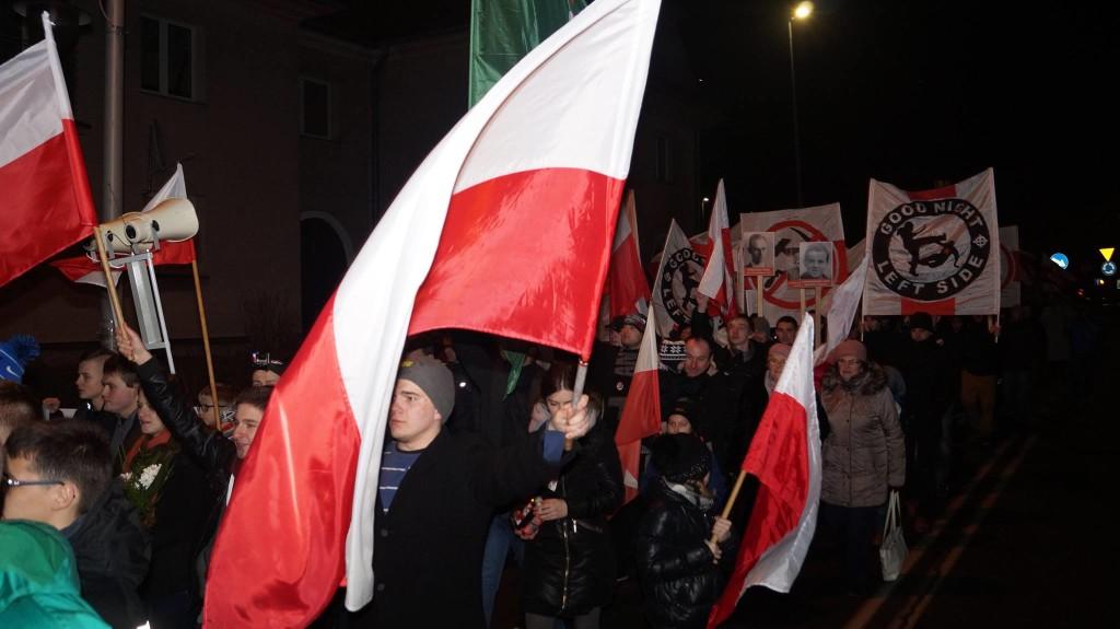 Marsz Zołnierzy Wyklętych ulicami Andrychowa