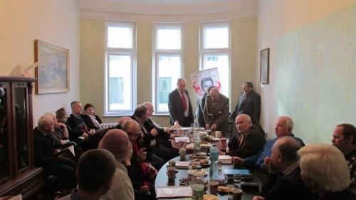 Spotkanie wCentrum Scigania Zbrodniarzy Komunistycznych iFaszystowskich