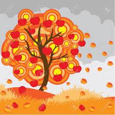 Koło jabłoni