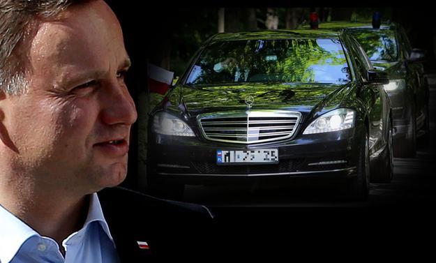 Limuzyna-Prezydenta-RP-Andrzeja-Dudy-mia