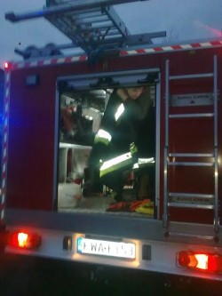 Strażacy zOSP Łaśnica