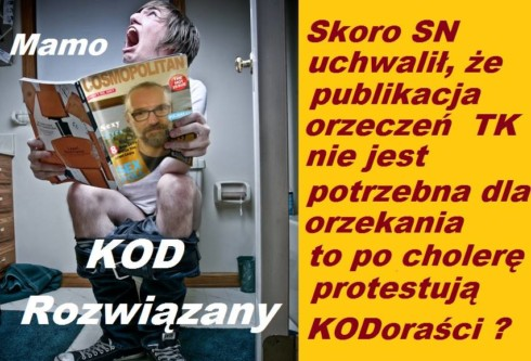 po co protestuje KOD