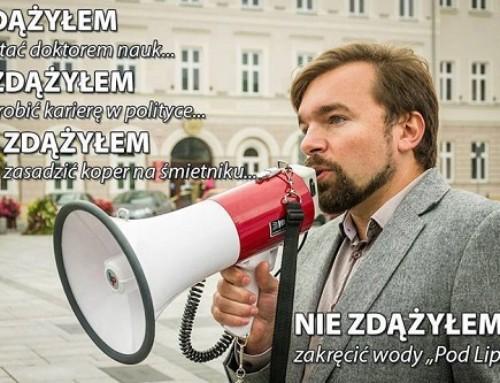"""Burmistrz Wadowic, prawnik Klinowski, dokumenty wypełniał """"na czuja"""""""
