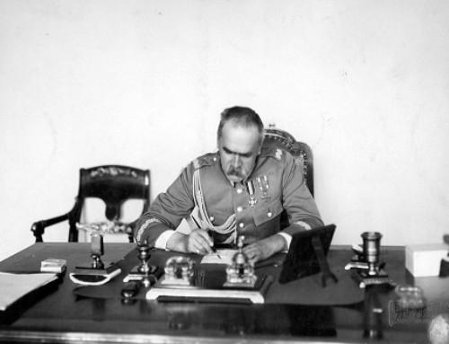 2017 rokiem Marszałka Piłsudskiego przynoszącego Polsce wolność
