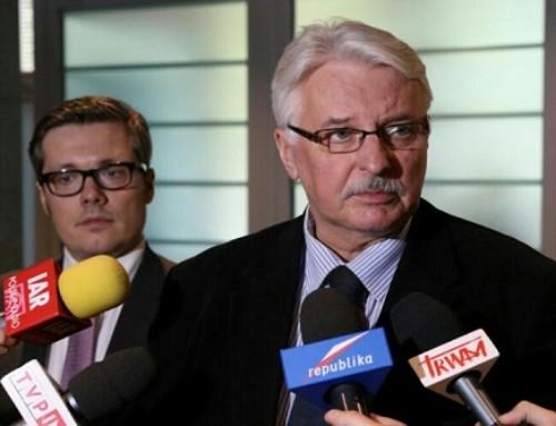 Minister Waszczykowski: Polska nie przyjmie uchodźców
