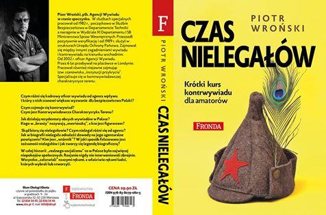 Czas nielgałów okładka ksiązki Piotr Wrońskiego