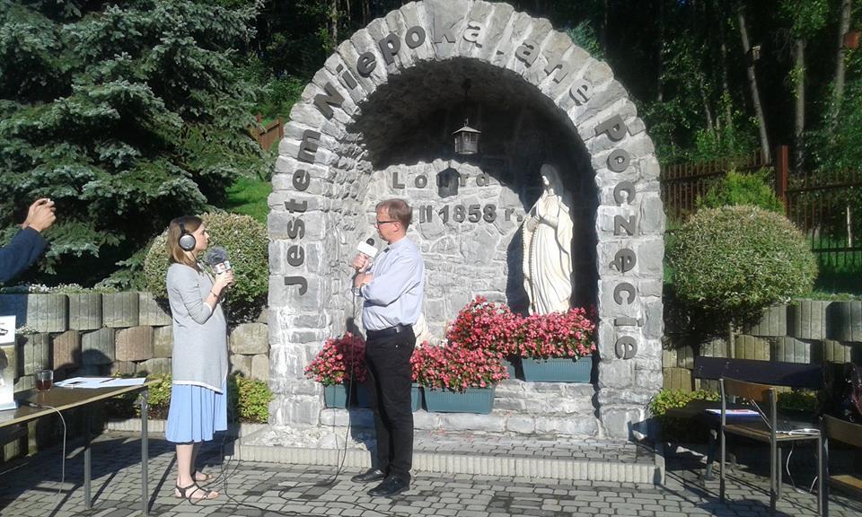 Ks. Garlacz wPoranku Radia Wnet zWadowic
