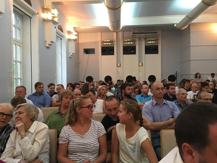 Publiczność napremierze książki Raporty Pileckiego