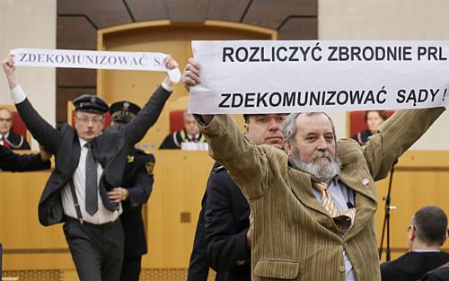 Zdekomunizować sądy wPolsce