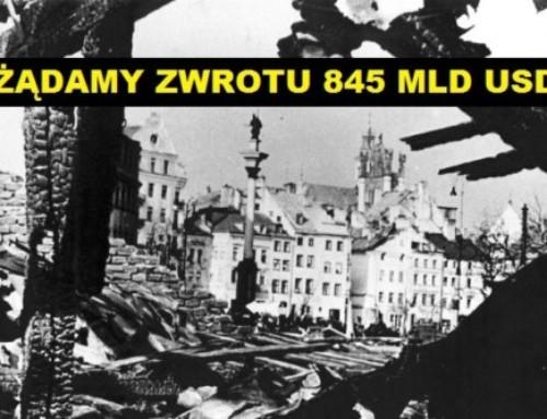 Dlaczego kolejne rządy Polski nie domagają się odszkodowań wojennych?