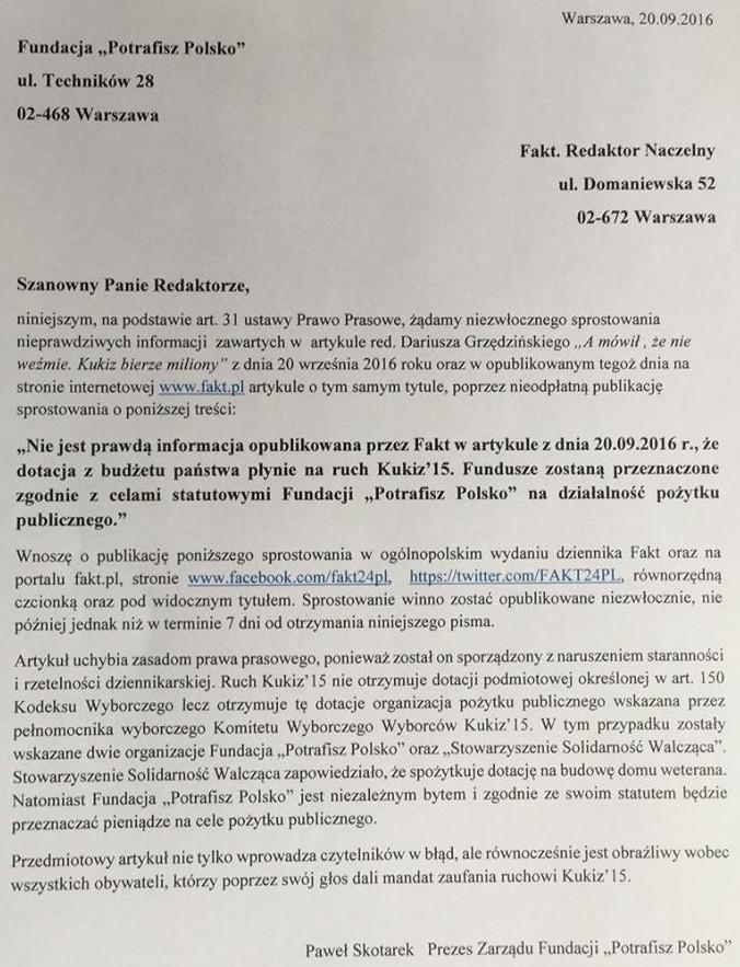 pismo-fundacji-potrafisz-polsko-do-gazety-fakt-ws-kasy-z-pkw