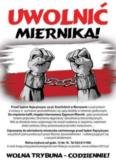 Plakat Z. Miernik