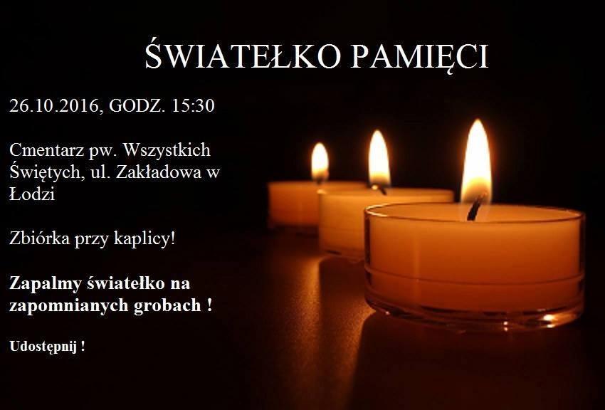 Apel Przemka Ledziana domieszkańców Łodzi – przywołajmy pamięć …