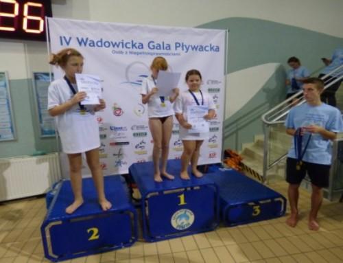 IV Wadowicka Gala Pływacka Osób zNiepełnosprawnościami zanami