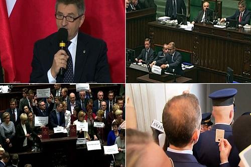 Poseł Szczerba awansował naPO Nadkomendanta Straży Marszałkowskiej?