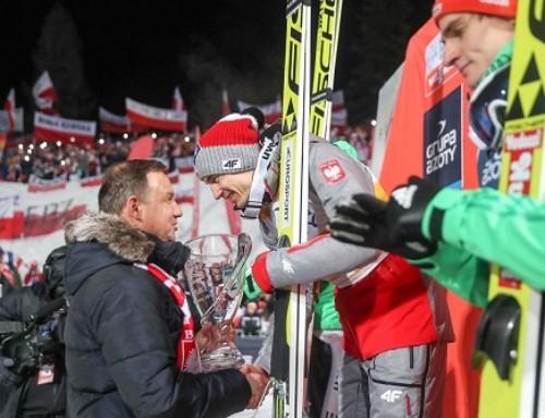 Prezydent RP Andrzej Duda wZakopanem: Mamy świetnych zawodników, mamy zczego się cieszyć