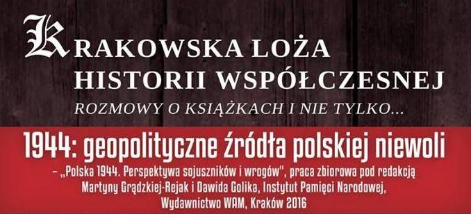 1944: Geopolityczne źródła polskiej niewoli