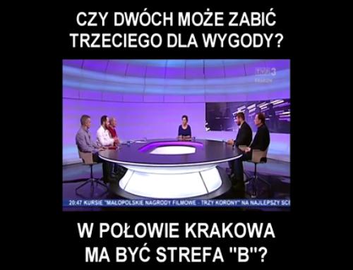 Krakowski ZIKiT zabija miejsca pracy iprzedsiębiorczość. Łenczyński broni przedsiębiorców przedurzędnikami
