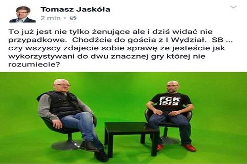 """Argument merytoryczny posła Jaskuły: – """"Ty esbeku"""""""