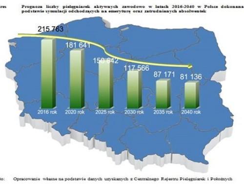 """""""Raport ostanie pielęgniarstwa"""" wPolsce. Apeluję oskonsolidowanie sił wszystkich środowisk"""