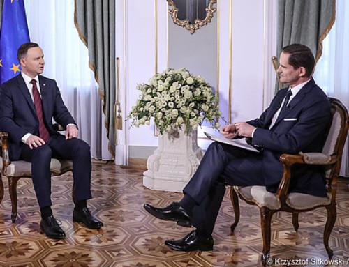 Prezydent RP Andrzej Duda: Polacy mamy zczego być dumni ipowinniśmy być dumni. Toinni mają się czego wstydzić, anie my