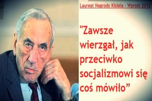 Poseł prof.Józef Brynkus: Tadeusz Mazowiecki nie zasłużył aby Sejm czcił jego pamięć specjalną uchwałą