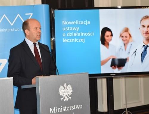 Czasami mamy wrażenie, żezawsze zaktualnie urzędującym Ministrem Zdrowia mówimy otych samych problemach