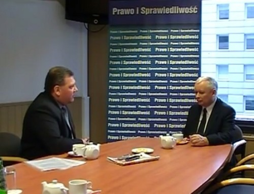 Jarosław Kaczyński popiera media obywatelskie