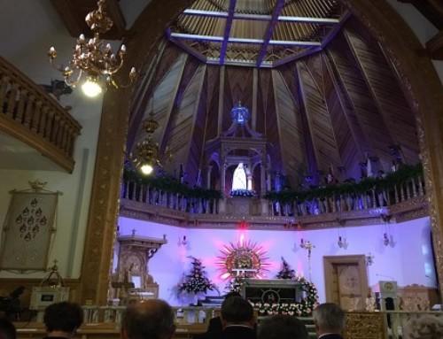Krzeptówki – Polska poświęcona Niepokalanemu Sercu Maryi