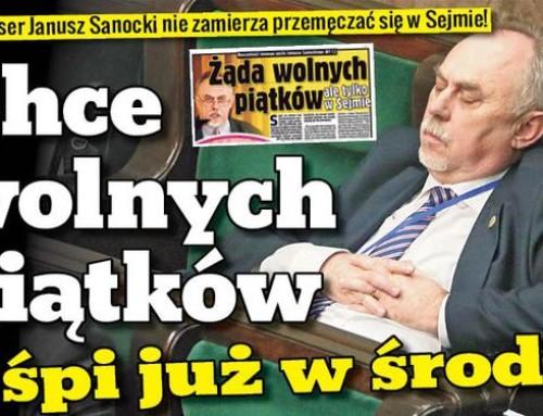Janusz Sanocki – peerelowski komunista nasejmowych barykadach wwalce zantykomunizmem