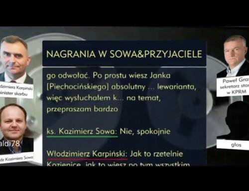Ksiądz Kazimierz Sowa, czyli  Miłosierdzie  wwydaniu PO–PSL