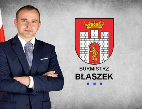 Podsumowanie 3 lat pracy Burmistrza Błaszek Karola Rajewskiego