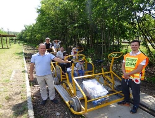 Szlak kolejowy wRegulicach koło Alwerni ponownie czynny
