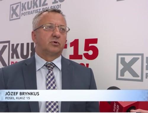 Poseł drhab. Józef Brynkus: Miał być rozwój Spółki Tauron Polska Energia asą działania naszkodę tejspółki
