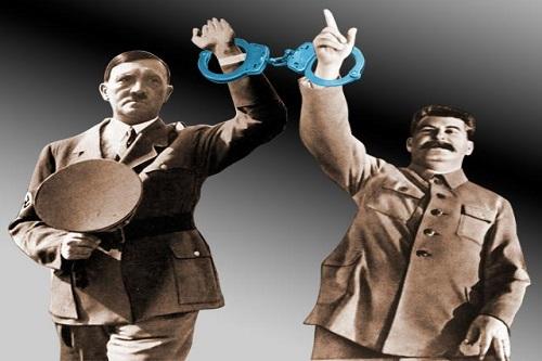 """Przerażające jest to, żezXX wieku """"wiecznie żywi"""" pozostaną dwaj zbrodniarze: Hitler iStalin"""