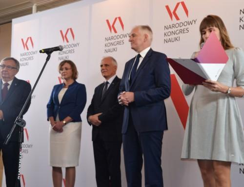 Narodowy Kongres Nauki – Konferencja prasowa ministra Jarosława Gowina