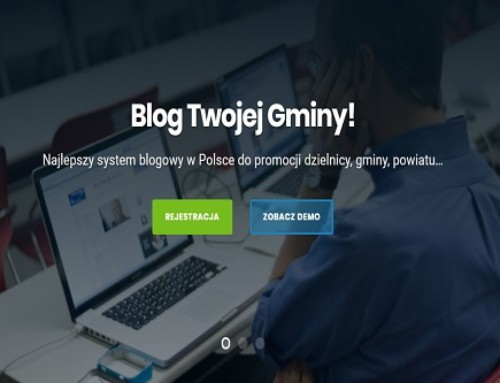 Zostań dziennikarzem! Załóż bloga gminnego / lokalną gazetę wswojej gminie