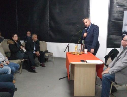 Spotkanie zpisarzem Wojciechem Sumlińskim
