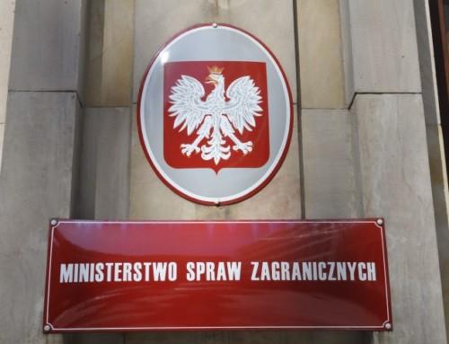 Niekompetencja Ministerstwa Spraw Zagranicznych działa naszkodę Polski iPolaków