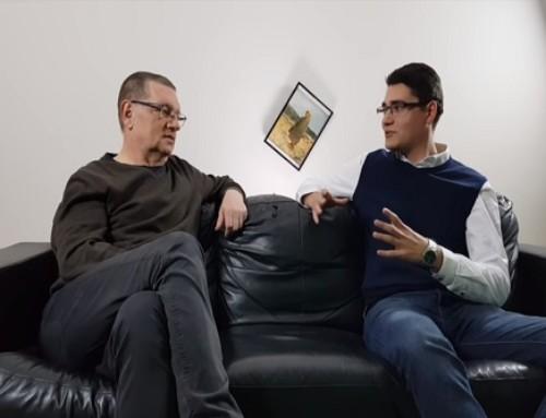 Piotr Wroński wrozmowie zKonradem Smuniewskim
