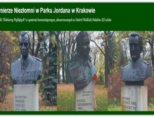 """Program centralnych obchodów  Narodowego Dnia Pamięci  """"Żołnierzy Wyklętych"""" wKrakowie"""