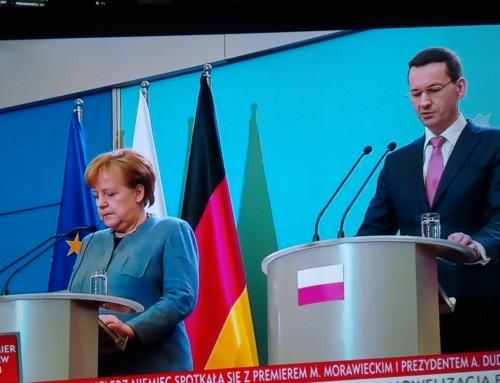 Wizyta Merkel istan euforii