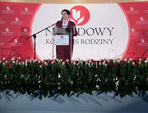 Wicepremier Beata Szydło: Dzieci są najlepszą inwestycją