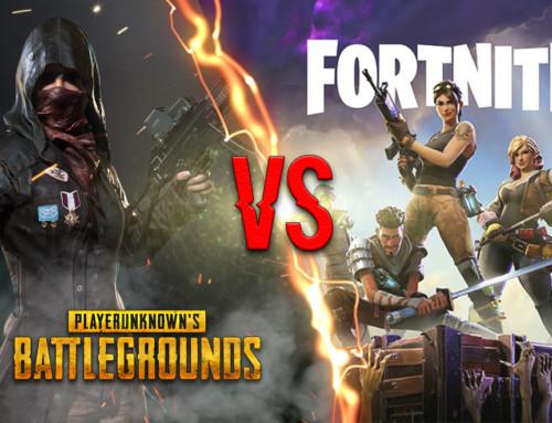 Fortnite vs PUBG, czyli Gra oKoronę welektronicznych igrzyskach śmierci