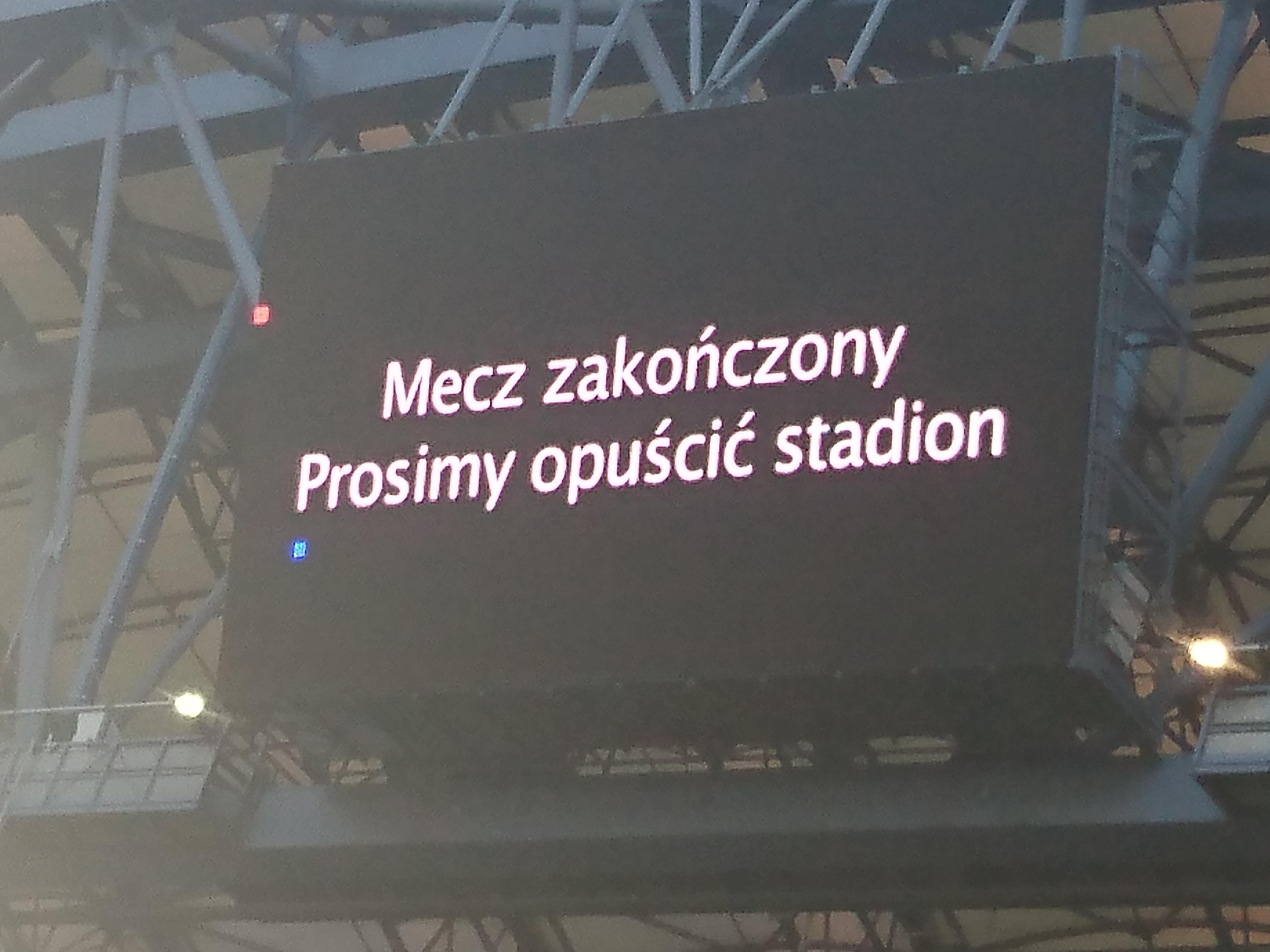 Wyjaśnienia wsprawie incydentu nameczu Lecha Poznań