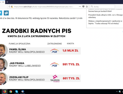 """Radny """"dobrej zmiany"""" Paweł Śliwa liderem!"""